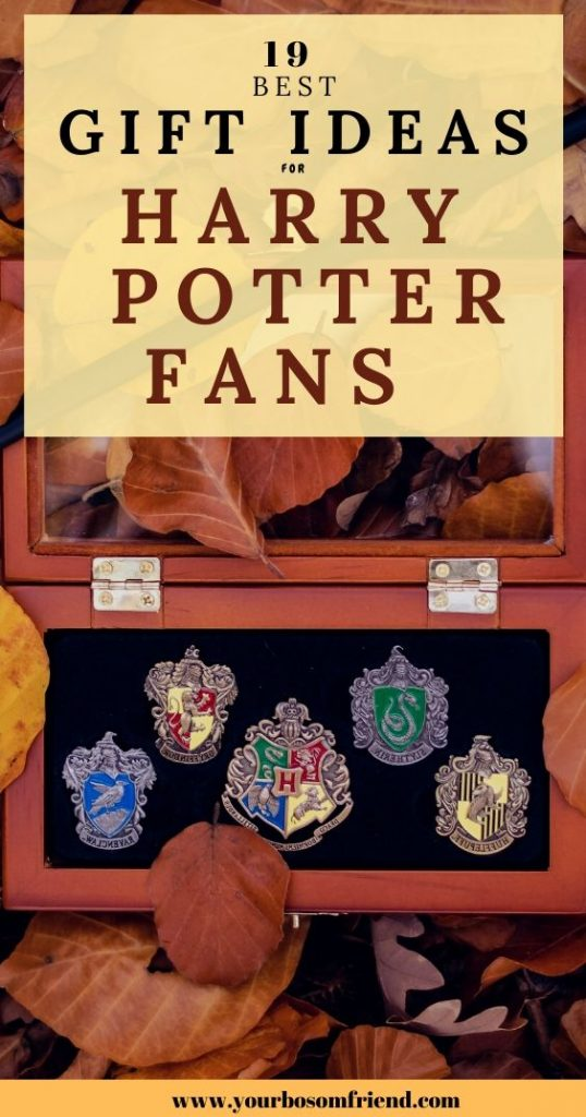 19 Harry Potter Gift Ideas That Will Impress The Ultimate Fan- YOUR BOSOM FRIEND
