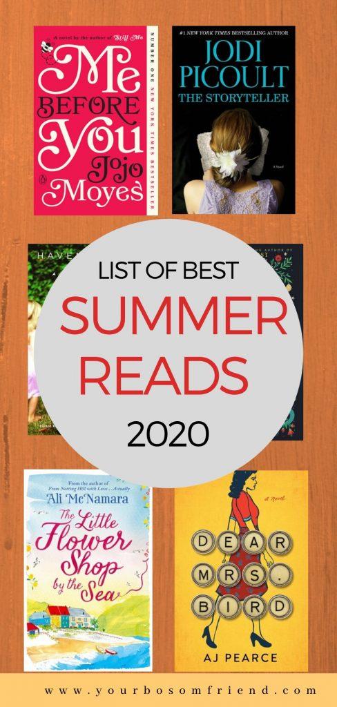 12 Best Summer Reads | Best Holiday Reads 2020